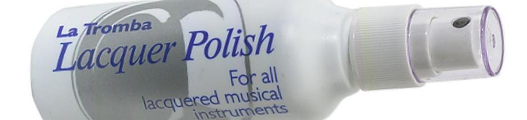 LA TROMBA Lacquer Polish.