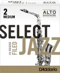 RICO - D'ADDARIO WOODWIND SELECT JAZZ F.Alt