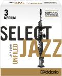 RICO - D'ADDARIO WOODWIND SELECT JAZZ U.Sop